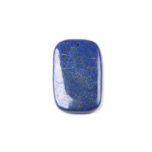 Blue Lapis Lazuli Rectangle Pendant 35mm x 55mm  CB48345