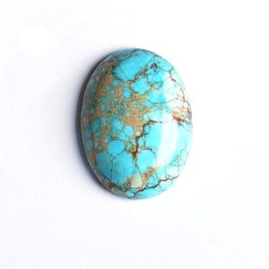 Pale Blue Smooth Impression Jasper 18mm x 25mm Calibrated Oval Cabochon Pack Of 1 CB50477-1