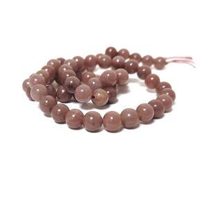 Purple Aventurine Grade A Plain Round Beads 6mm Strand Of 60+ Pieces CB79963-2
