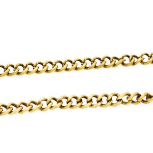 Copper Golden Cable Chain 1.5mm x 2mm Open Link 5m Length CH1605