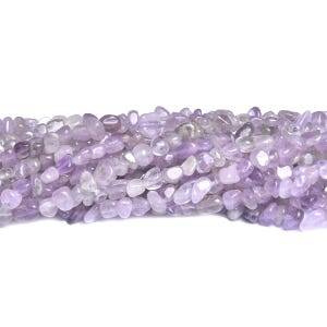 Lilac Cape Amethyst Grade A Smooth Nugget Beads Approx 2x3mm-5x7mm Strand Of 85+ Pieces D01145