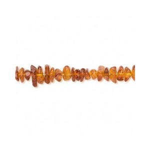 Golden/Brown Baltic Amber Grade A Chip Beads 4mm-6mm Strand Of 115+ Pieces FM9833