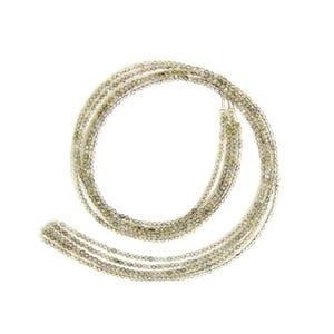 Grey Labradorite Grade A Plain Round Beads 2mm Strand Of 150+ Pieces GS11792