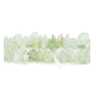 Green Bowenite Grade A Chip Beads 5mm-8mm Long Strand Of 240+ Pieces GS3224