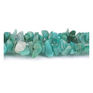 Green Russian Amazonite Grade A Chip Beads 5mm-8mm Long Strand Of 240+ Pieces GS5200