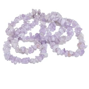 Lilac Cape Amethyst Grade A Chip Beads 5mm-8mm Long Strand Of 240+ Pieces GS5202