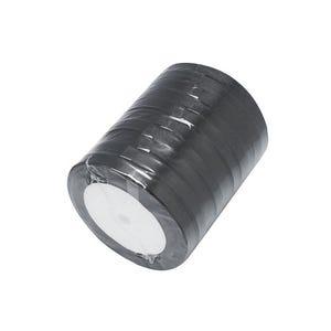 Black Satin Ribbon 20M Spool 7mm Wide HA02752