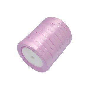 Lilac Satin Ribbon 20M Spool 7mm Wide HA02755