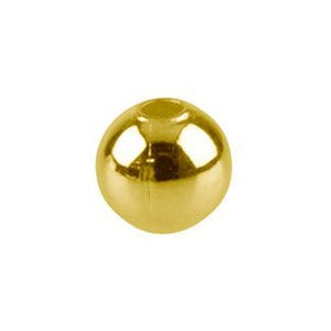 Golden Iron Round Spacer Beads 8mm Pack Of 60+ HA07730
