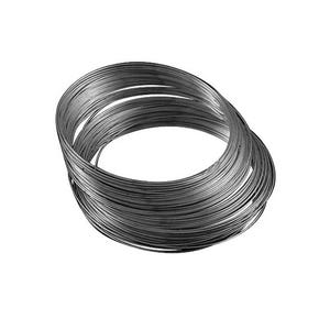 Black Steel 0.6mm x 11.5cm Round Memory Wire Necklace Loops Pack Of 30 HA13045