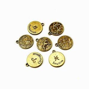 Antique Bronze Tibetan Zinc Mixed Charms 5-40mm Pack Of 30g HA13100
