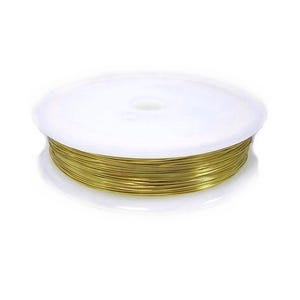 Copper Craft Wire Golden Enamelled 6m Spool 0.6mm Thick HA16230