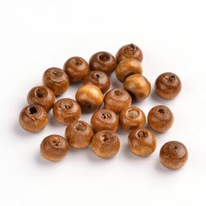Brown Wood Plain Rondelle Beads 4mm x 6mm Pack Of 500+ HA23030