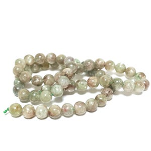 Green Kyanite Grade A Plain Round Beads 6mm Strand Of 58+ Pieces TD1180