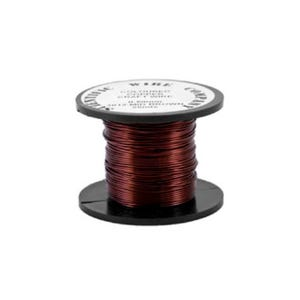 Copper Craft Wire Brown Enamelled 15m Coil 0.5mm Thick W5012