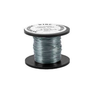 Copper Craft Wire Grey/Blue Enamelled 15m Coil 0.5mm Thick W5126
