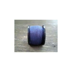 Knitted Mesh Copper Craft Wire Dark Blue Enamelled 1m Flat Tube 15mm Thick W7001