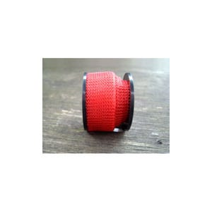 Knitted Mesh Copper Craft Wire Bright Red Enamelled 1m Flat Tube 15mm Thick W7003