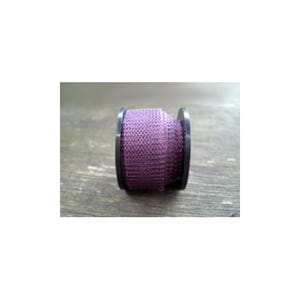 Knitted Mesh Copper Craft Wire Dark Purple Enamelled 1m Flat Tube 15mm Thick W7010