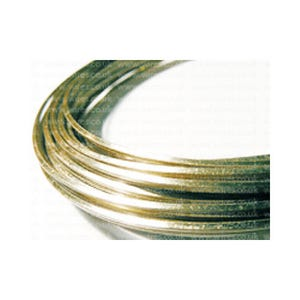 Square Copper Craft Wire Golden Enamelled 6m Coil 0.8mm Thick WGSQ