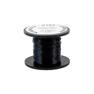 Copper Craft Wire Black Enamelled 4m Coil 1mm Thick X1525