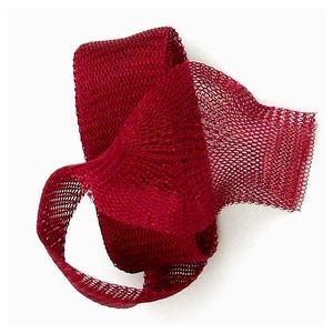 Knitted Mesh Copper Craft Wire Red Enamelled 1m Flat Tube 20mm Thick X1585