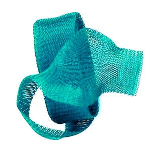 Knitted Mesh Copper Craft Wire Turquoise Enamelled 1m Flat Tube 20mm Thick X1600