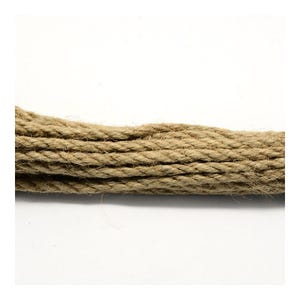 Beige Hemp Twine Cord 5M Continuous Length 5mm Thick Y05510