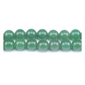 Green Aventurine Grade A Plain Round Beads 4mm Strand Of 90+ Pieces Y08775