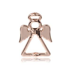 Rose Gold Metal Alloy 19mm x 26mm Angel Bead Frames Pack Of 3 Y09960