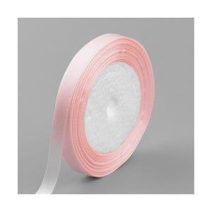 Peach Satin Ribbon 22M Spool 10mm Wide Y13075