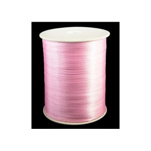 Pale Pink Satin Ribbon 15M Continuous Length 3mm Wide Y13215