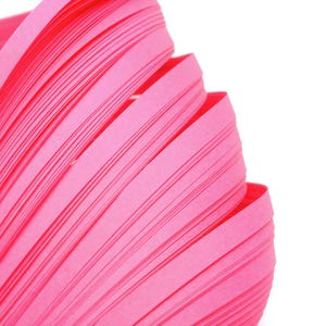 Bright Pink Quilling Paper 53cm x 5mm Pack Of 110+ Strips Y13520