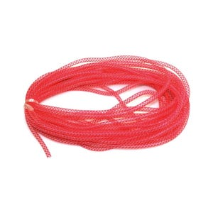 Red Nylon Polymesh Cord 2M Continuous Length 8mm Thick Y14765