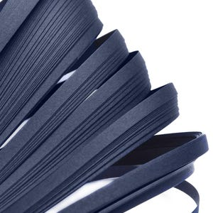 Navy Blue Quilling Paper 53cm x 5mm Pack Of 110+ Strips Y16865