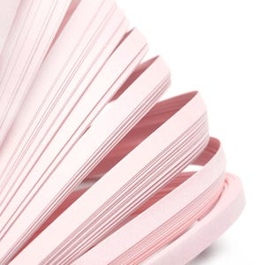 Pale Pink Quilling Paper 53cm x 5mm Pack Of 110+ Strips Y17350