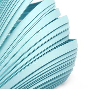Pale Blue Quilling Paper 53cm x 5mm Pack Of 110+ Strips Y17500