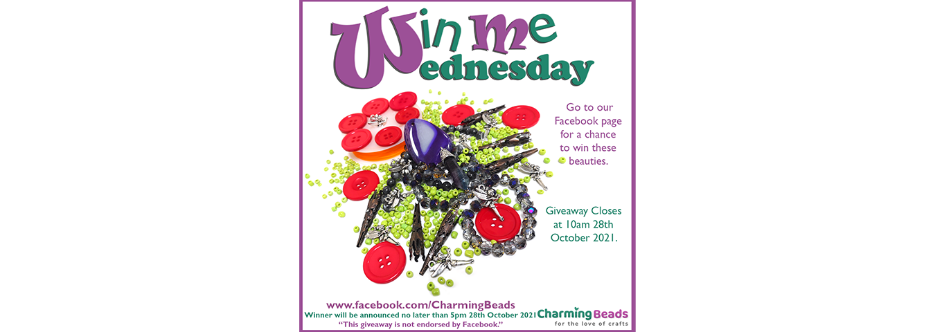 Win Me Wednesday On Our Facebook 27th October 2021